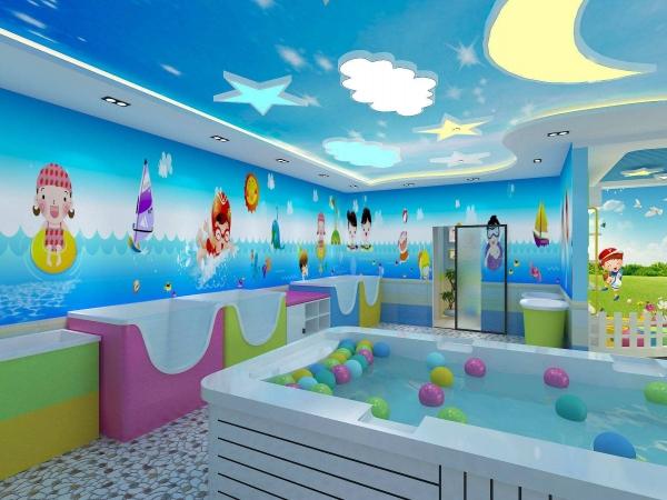 婴儿洗澡游泳馆加盟哪家好_2