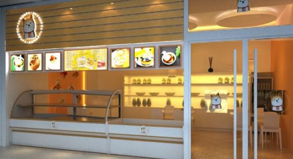 如何布置甜品加盟店的内部结构,才能让消费者感觉时尚温馨_2