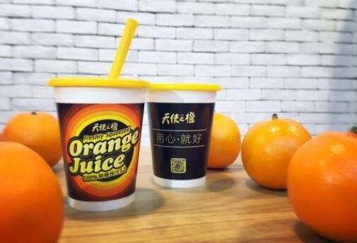天使之橙加盟赚钱吗?两个机器可抵一家饮品店_3