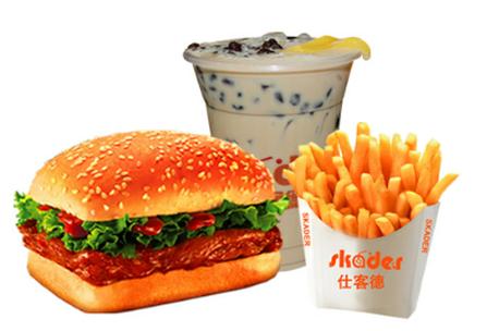 小型汉堡店加盟,仕客德汉堡有着很好的发展趋势_3