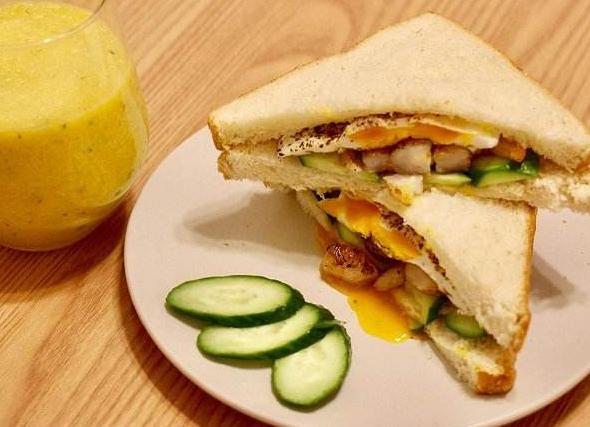 虾可爱三明治饮料代理 给你的生活加点料_2