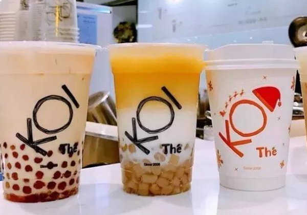网红koi奶茶招牌推荐 这几款你有喝过吗?_2