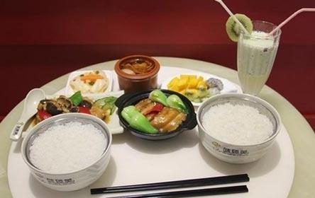 味臻美中式营养快餐美味好看