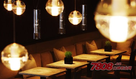 餐饮店光线照明