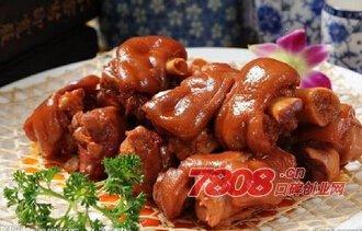 温州高老庄炭烤猪蹄