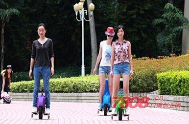 轻骑者智能滑行器加盟