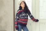 韩版毛衣3种穿搭方案 宽松毛衣SHOW风格