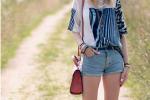 短裤+平底鞋 清凉舒适穿出大长腿