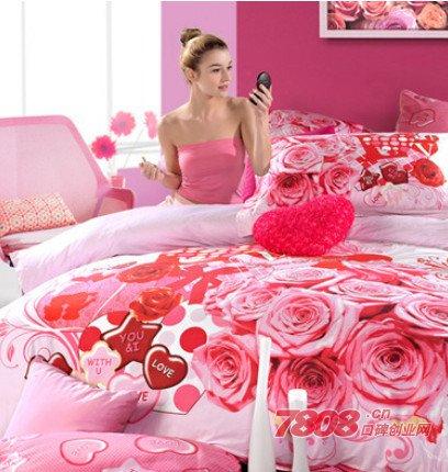 多喜爱床上用品加盟