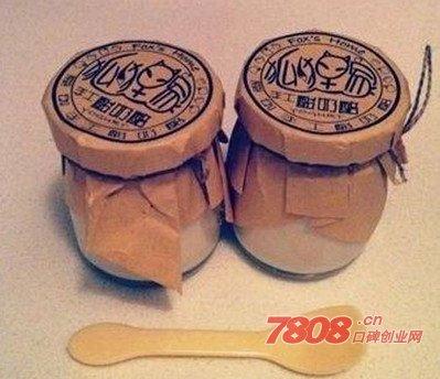狐狸家酸奶加盟