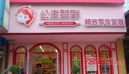 公主驾到零食加盟店需要投资多少钱