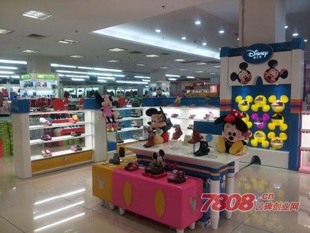 加盟迪士尼童鞋店多少钱