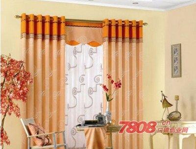 开家爱家窗帘专卖店需要多少资金,爱家窗帘