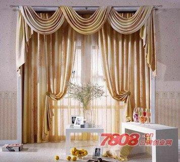 现在投资皇庭窗帘大概开店需要多少钱,皇庭窗帘