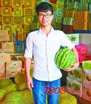 大学生,水果连锁店,成功案例