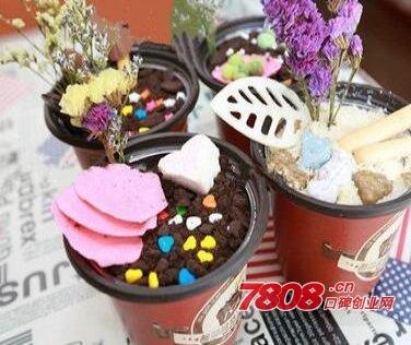 艺莎冰淇淋加盟支持和优势有哪些,艺莎盆栽冰淇淋