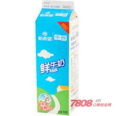华西牛奶县级代理多少钱
